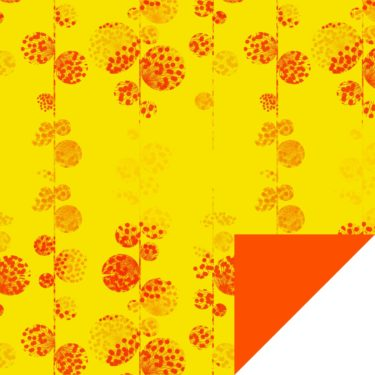 Dandelion Orange/Yellow Flip Sheet