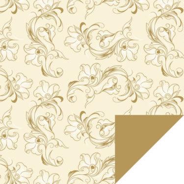 Dulcina Cream/Gold Flip Sheet