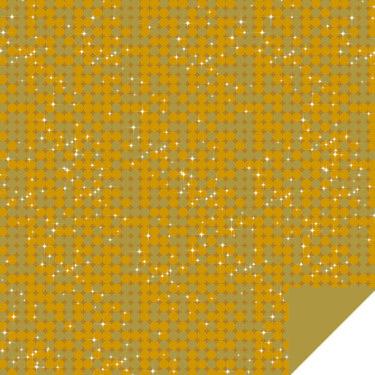 Glisten Gold Flip Sheet