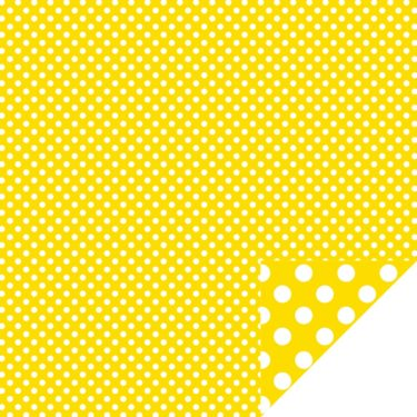 Home Décor Chevron Large Dots Yellow