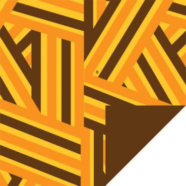 Hybrid Brown/Yellow/Orange Flip Sheet
