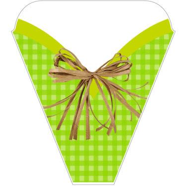 Spring Plaid Green Sleeve