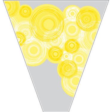 Sunrays- Yellow Sleeve
