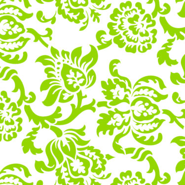 Damask Green Sleeve