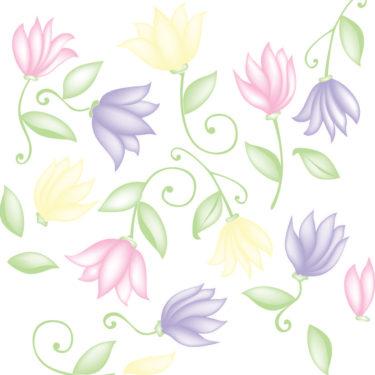 Flower Dance on clear Sleeve