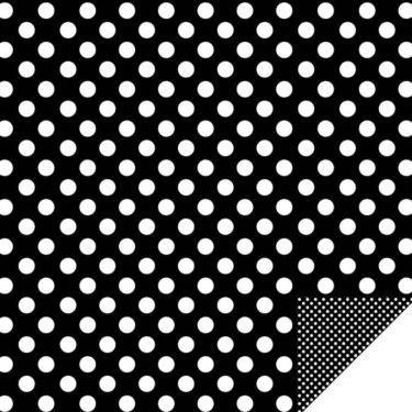 Home Décor Large Dots/  Mini Dots Black
