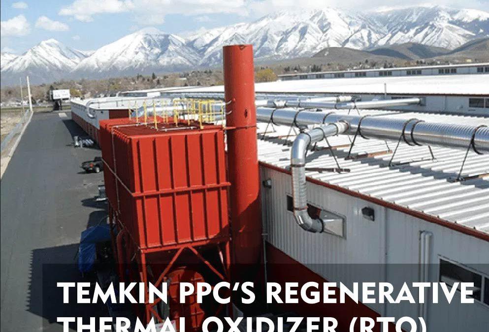 Temkin PPC's Regenerative Thermal Oxidizer (RTO)